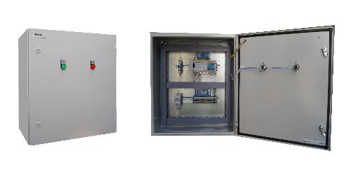 Автоматика газовой котельной - Щит контроля