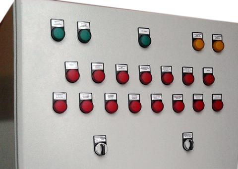 Модернизация котельной -Щит управления и сигнализации котельной