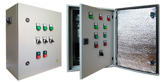 Шкаф управления КНС: для помещений и уличный