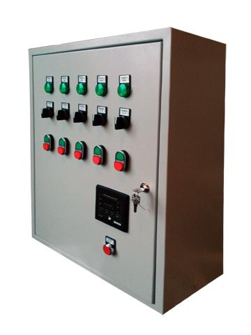Техническое перевооружение котельной - Шкаф управления насосами котельной
